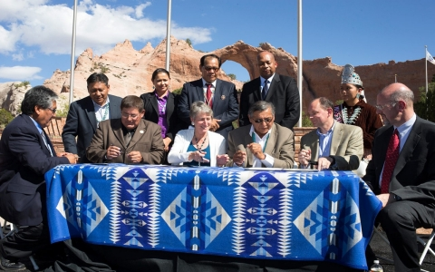 Thumbnail image for Landmark settlement and new law are victories for tribal sovereignty