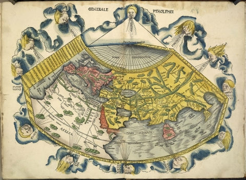 Image result for the map of the north by ptolemy