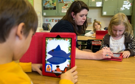 Tech-ifying learning? Teacher knows best