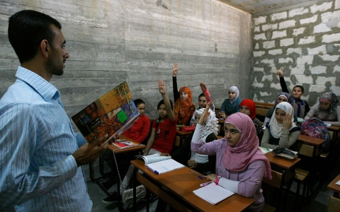 syria refugee education