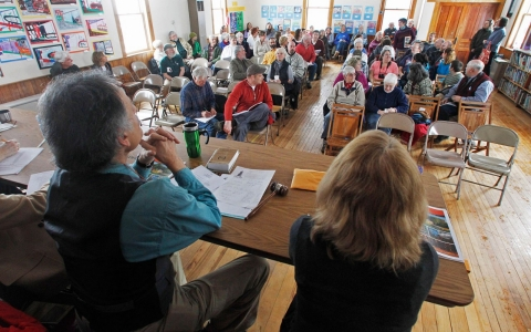 Vermont town meeting