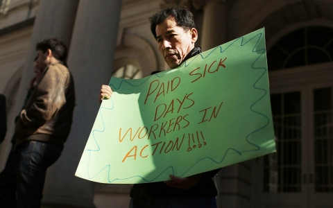 Thumbnail image for The drive to ban mandated paid sick days
