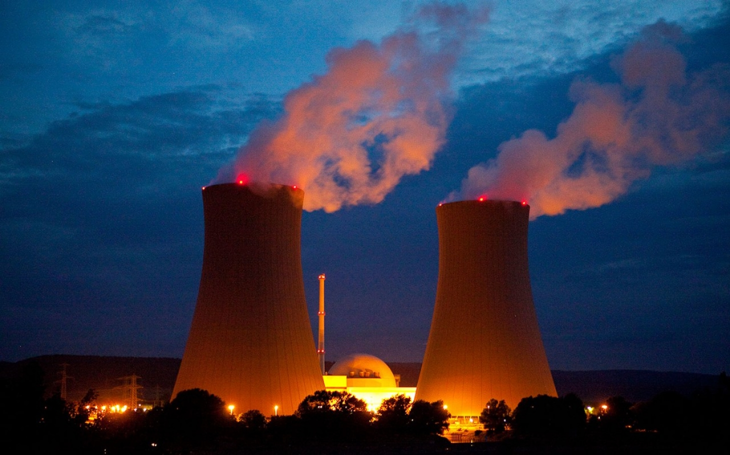how to say nuclear power plant in german