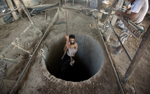 Thumbnail image for Opinion: Gaza's tunnel paradox