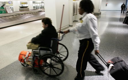 Airlines break too many wheelchairs
