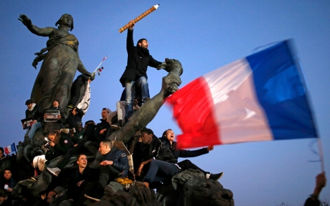 Thumbnail image for OPINION Does the march of <br>4 million represent France?