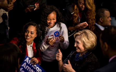 Hillary Clinton is not entitled to black votes