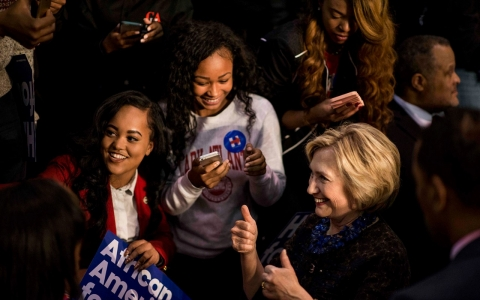 Thumbnail image for Opinion: Hillary Clinton is not entitled to black votes