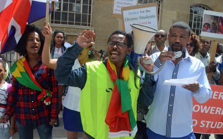 Protesters in Ethiopia reject authoritarian development model