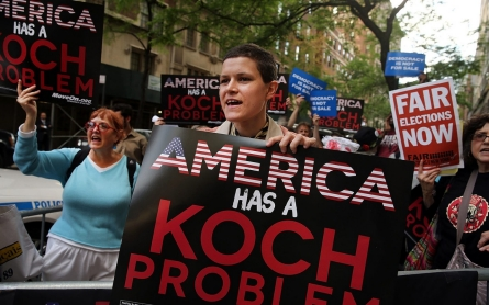 Answer Koch money with people power
