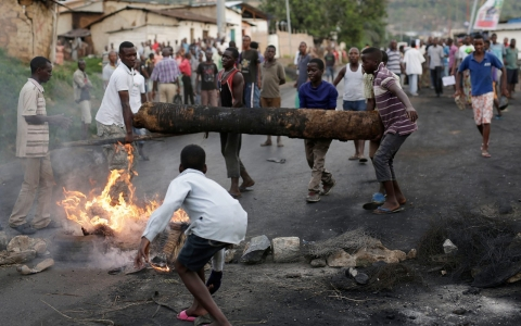 Thumbnail image for Burundi unrest marks democratic backsliding in Africa