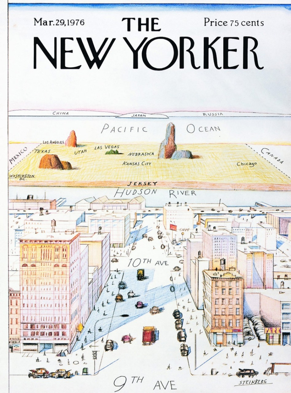 Every map youve ever seen of africa is right al jazeera america new yorker cover gumiabroncs Gallery