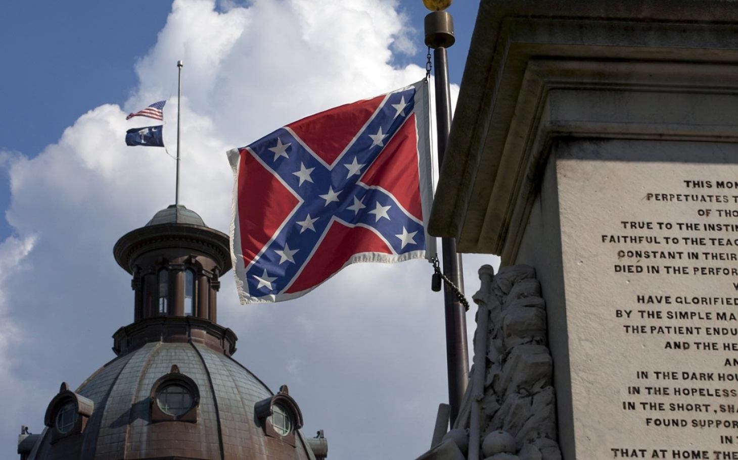 Taking Down The Confederate Flag Isnt Enough Al Jazeera America