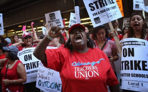 Thumbnail image for The Supreme Court eyes the end of public-sector unions
