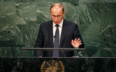 Putin at UN