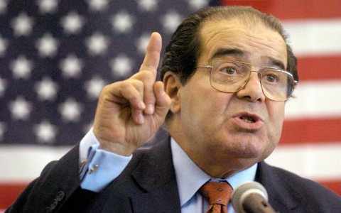 Thumbnail image for Scalia brought constitutional law into the political arena