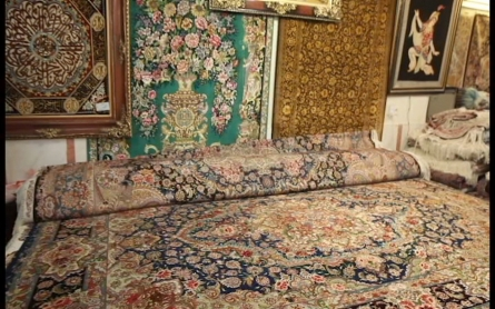 The Grand Carpet Bazaar of Tehran
