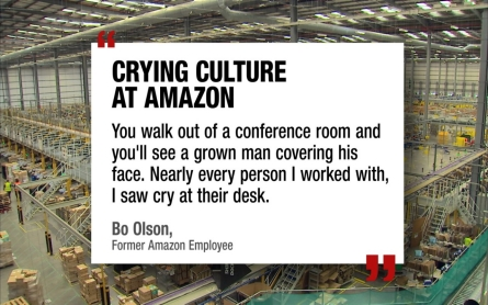 Does Amazon represent America's new work culture?