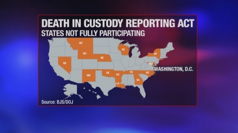 States opting out of Death in Custody Reporting