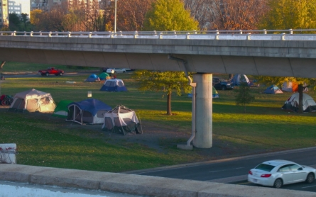 Welcome to DC's tent city