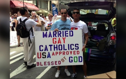 Heartened by Pope Francis, gay Catholics seek acceptance in church