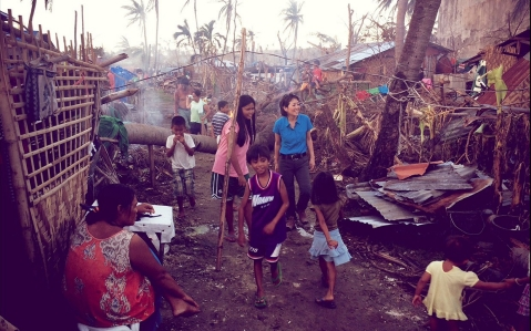 Thumbnail image for In rural community devastated by Typhoon Haiyan, resilience reigns