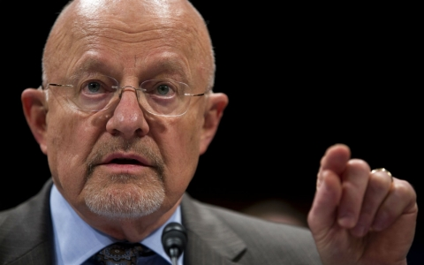 Director of National Intelligence James Clapper testified on Capitol Hill last month before the House Intelligence Committee.