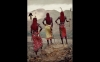 The Samburu people live in the Rift Valley of northern Kenya. They are nomadic cattle herders and the warrior men proudly adorn themselves with what looks to Western eyes like women's attire. According to Nelson, they have little interest in the supposed benefits of modern life.