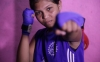 Chaitali Kapat, 15, hopes that boxing will be her ticket to the Olympics and a way for her family to escape poverty.