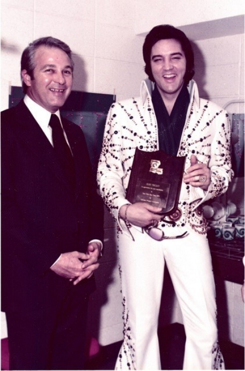 Edwin Edwards and Elvis