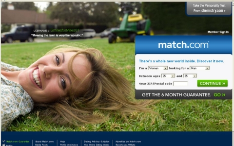 Match.com is among the more popular online dating sites.