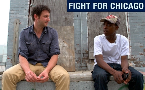 Christof Putzel speaks with Cederick, a young man who lives in Chicago.