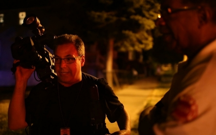 'This could get dicey': Ride along on Chicago journalist's graveyard shift