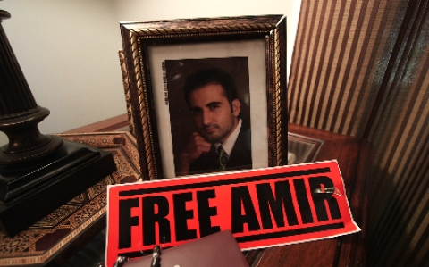 A photo of Amir Hekmati
