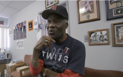"Jim ""Mudcat"" Grant reflects on the history of the earliest black ballplayers in Major League Baseball. He is among the former players being interviewed for a special oral-history project on the role of black baseball players following Jackie Robinson."