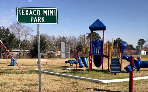 A Port Arthur playground