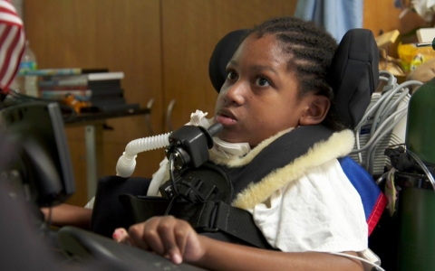 "Deontae Shuler, 11, lived at Kidz Korner for more than a year. ""Some of the [Certified Nursing Assistants] were rough … When they change you, they turn you hard and everything,"" he said."