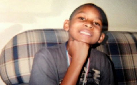 When he was 8, Deontae was struck by a car while riding his bike and became quadriplegic.