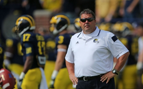 Thumbnail image for Handling of injured QB's head hit puts Brady Hoke's future in jeopardy