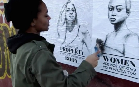 Take back the streets: Fighting harassment with feminist street art