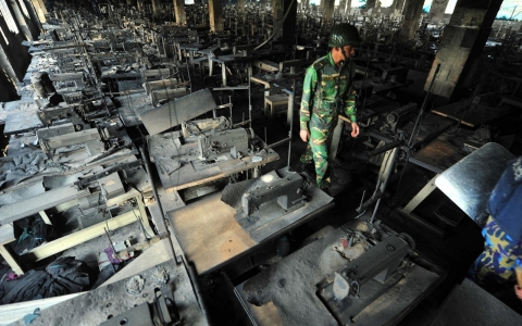 Image for Thousands fired after Bangladesh factory found unsafe