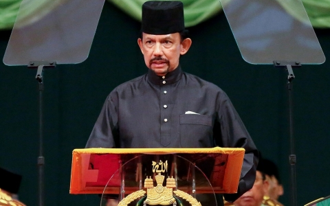 Image for Brunei to introduce amputation and stoning penalties