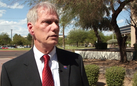 Richard Pratt, interim health services director for Arizona's Department of Corrections, denies that there's a scabies outbreak in prison and says that Corizon's staffing levels have exceeded the requirements of the contract.