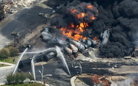 Thumbnail image for A year later, the lessons learned in the ashes of Lac-Megantic
