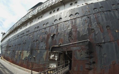 Supporters of the SS United States realize that with monthly berthing fees of more than $60,000, it'll be difficult to preserve the historic ship.