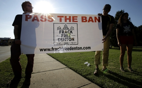 Thumbnail image for Will this be the first Texas city to ban fracking?