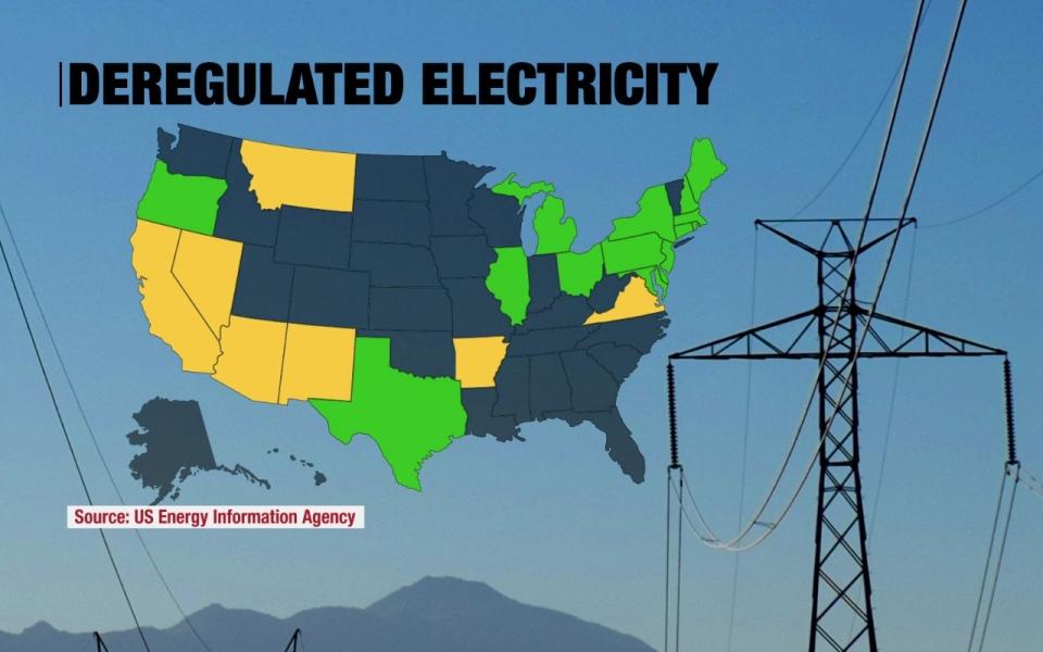 Deregulated energy