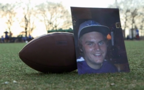 Jordan Preavy took his own life a year after a violent hazing incident.