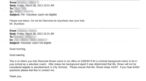 Diamonte Brown email