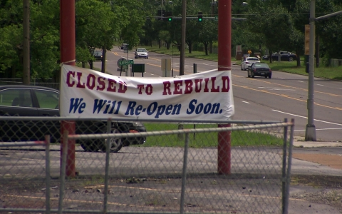 """We have had our booms and busts like many communities,"" Mayor James Knowles said about efforts to rehabilitate the city after rioting in the past year following Michael Brown's death. ""It's going to be a continuous process of rebirth and rebuilding as we improve on our self both physically but then also as a community."""